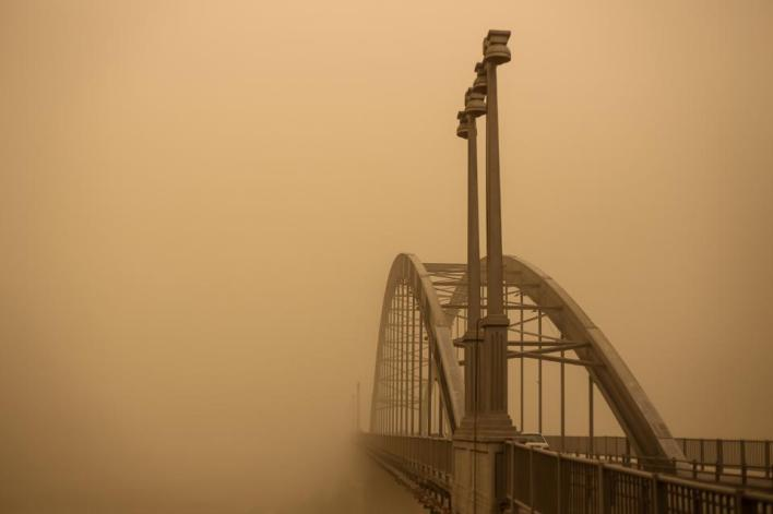 Sony World Photography Awards: The city of Ahvas in Iran,  one of the most polluted in the world.