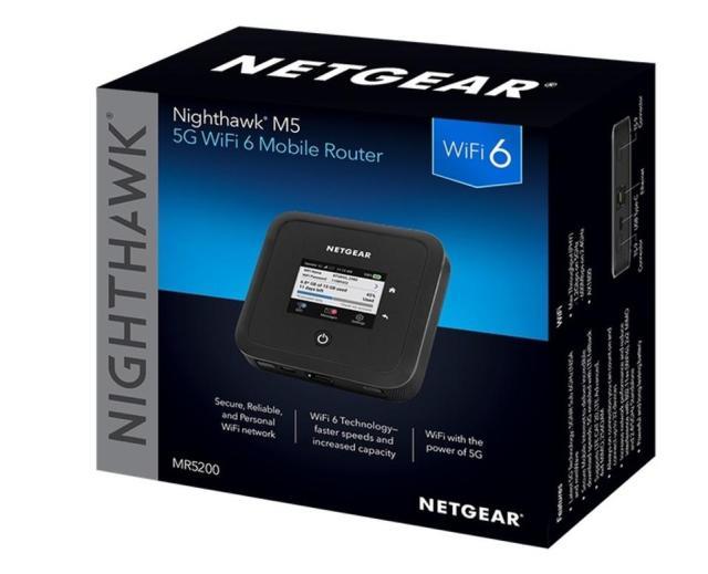 Borsht of Netgear Nighthawk 5G mobile router