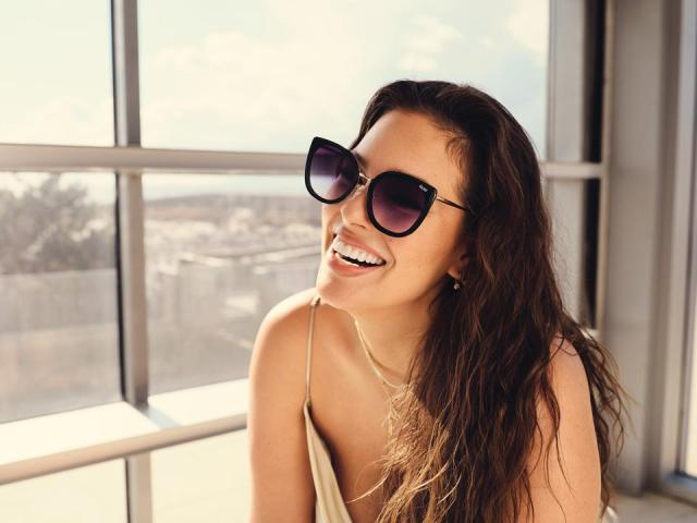 Ashley Graham collaborates with Quay to donate $100,000 to Girls Inc. in support of Women's History Month.