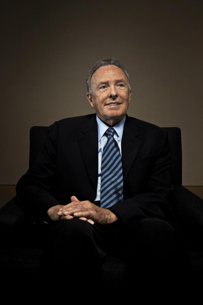 Donald Bren, chairman of Irvine Company, is photographed at company headquarters in Newport Beach,