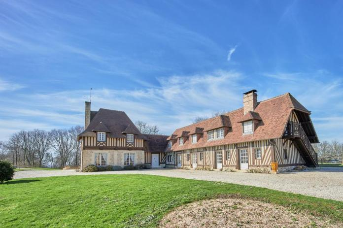 18th century french farmhouse in normandy
