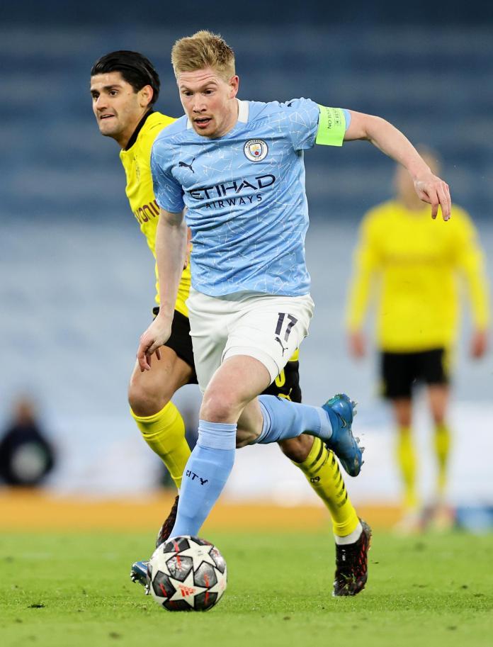 Manchester City v Borussia Dortmund - UEFA Champions League Quarter Final: Leg One