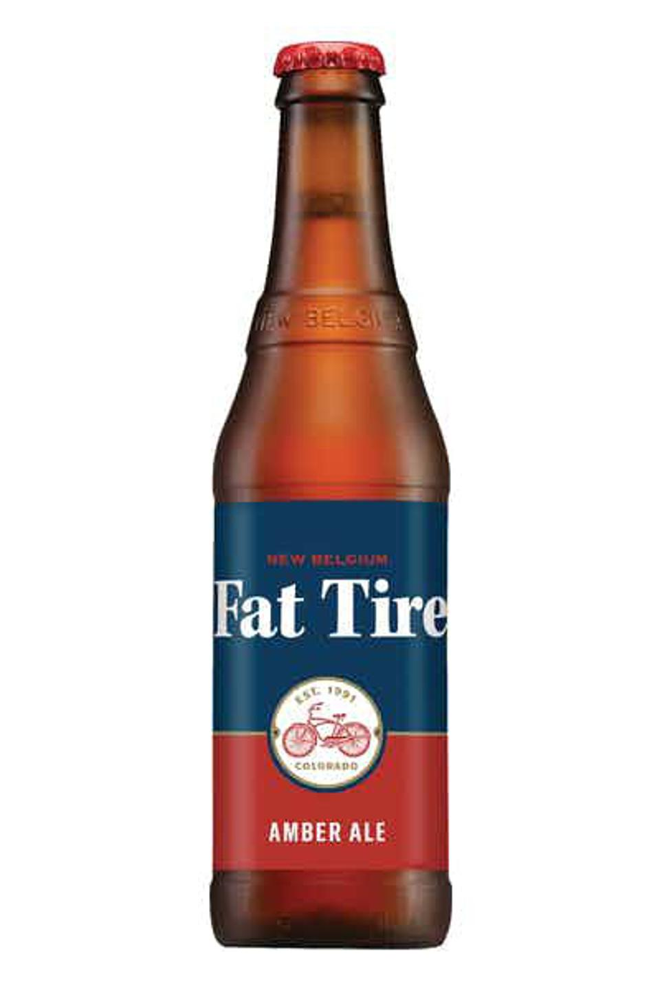 Fat Tire Ale from New Belgium Brewing Company.