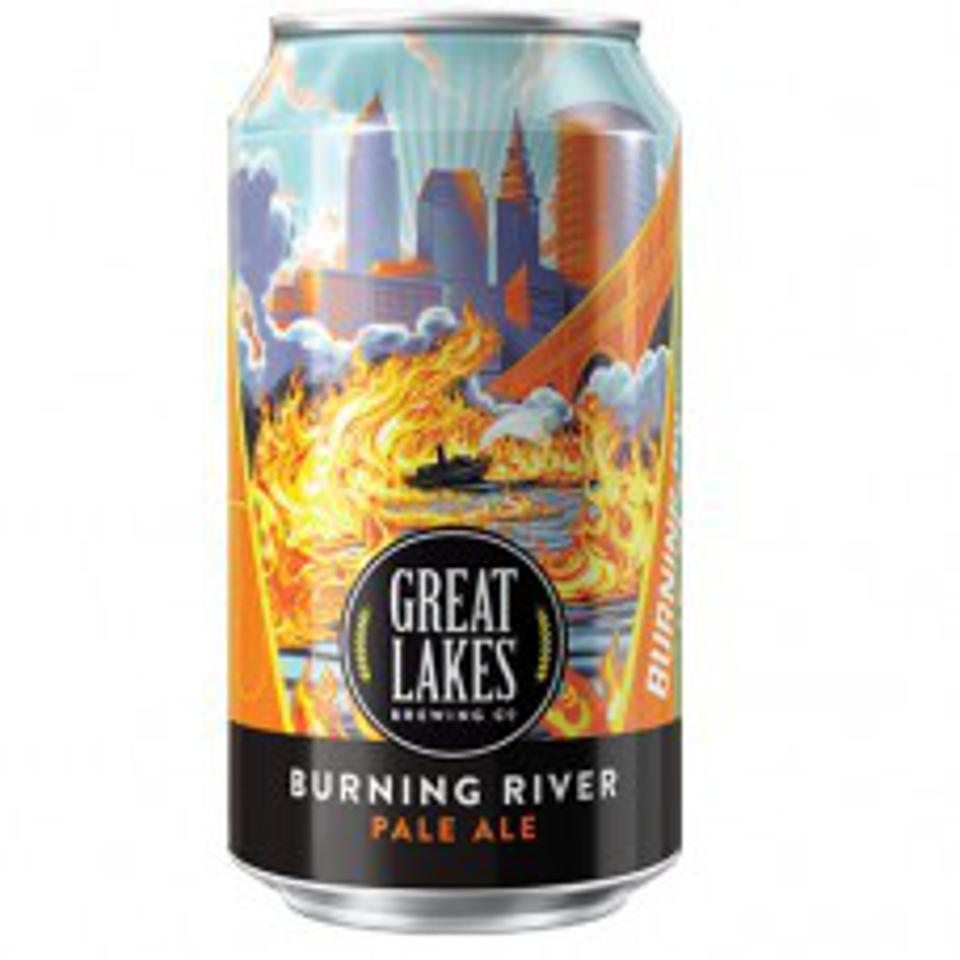 Burning River Pale Ale from Great Lakes Brewing Company.
