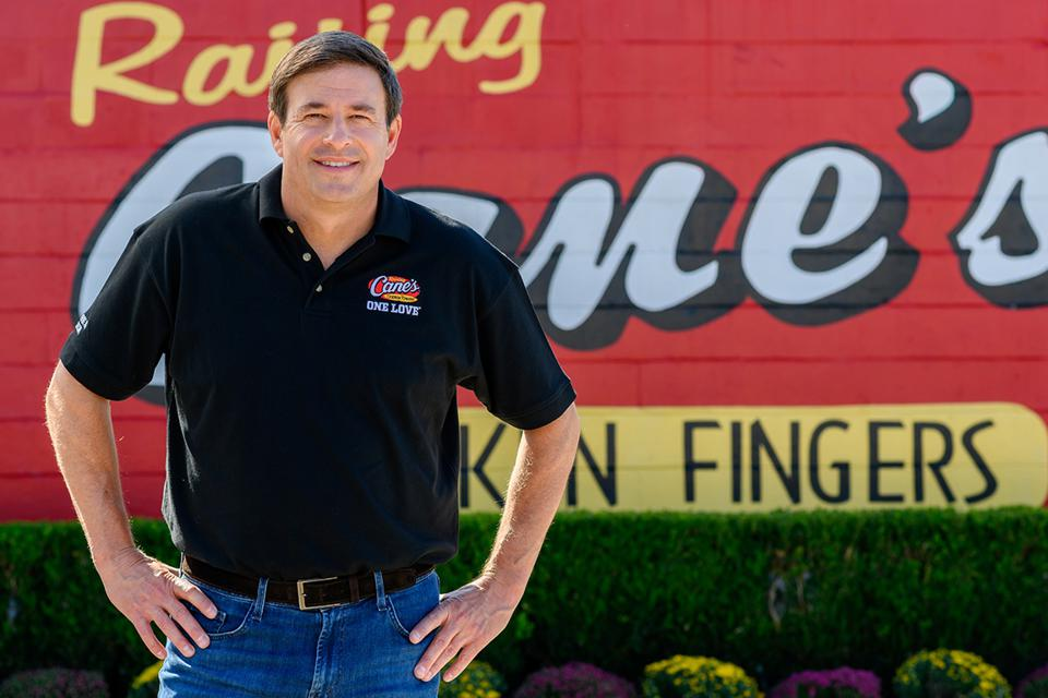 Raising Cane's founder and CEO Todd Graves