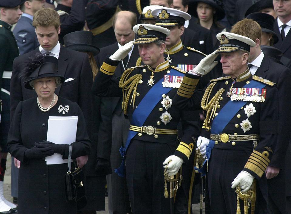 Queen And Charles And Philip