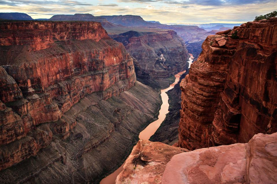 Majestic landscape of Grand Canyon