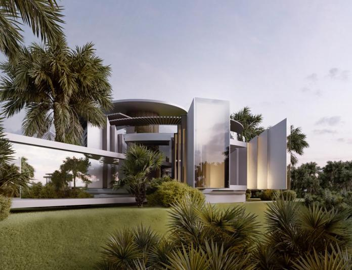 architect futuristic compound concept for paul allen enchanted hill los angeles beverly hills