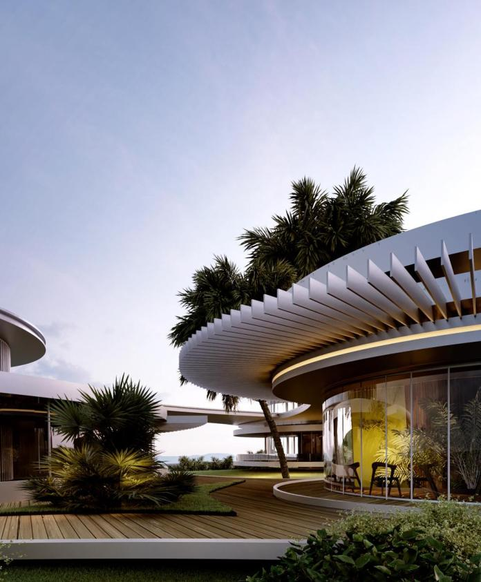 futuristic home concept for angelo place at the enchanted hill paul allen 90210