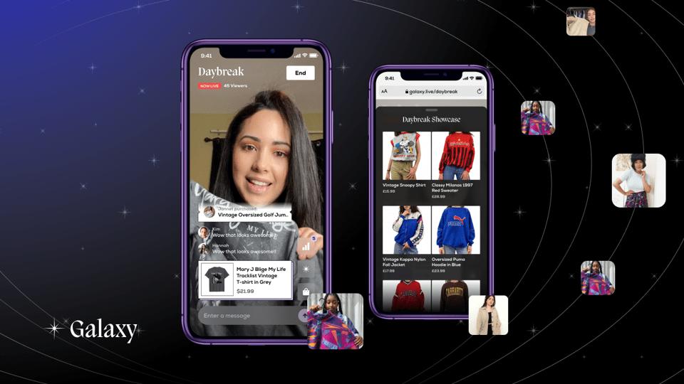 Galaxy: The New Platform Splicing Resales & Livestream Commerce