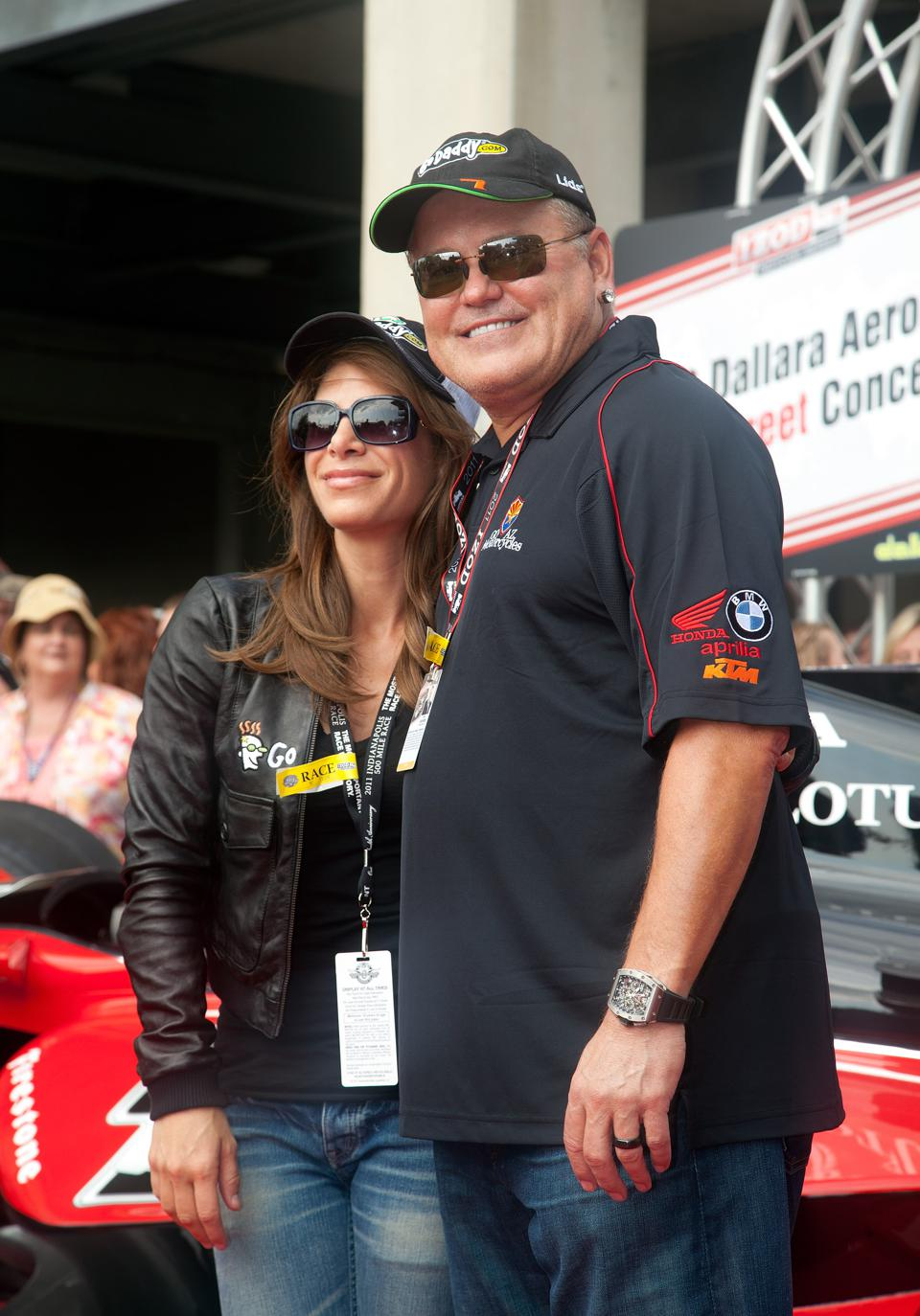 100th Anniversary Indianapolis 500 - Celebrities Attend Race