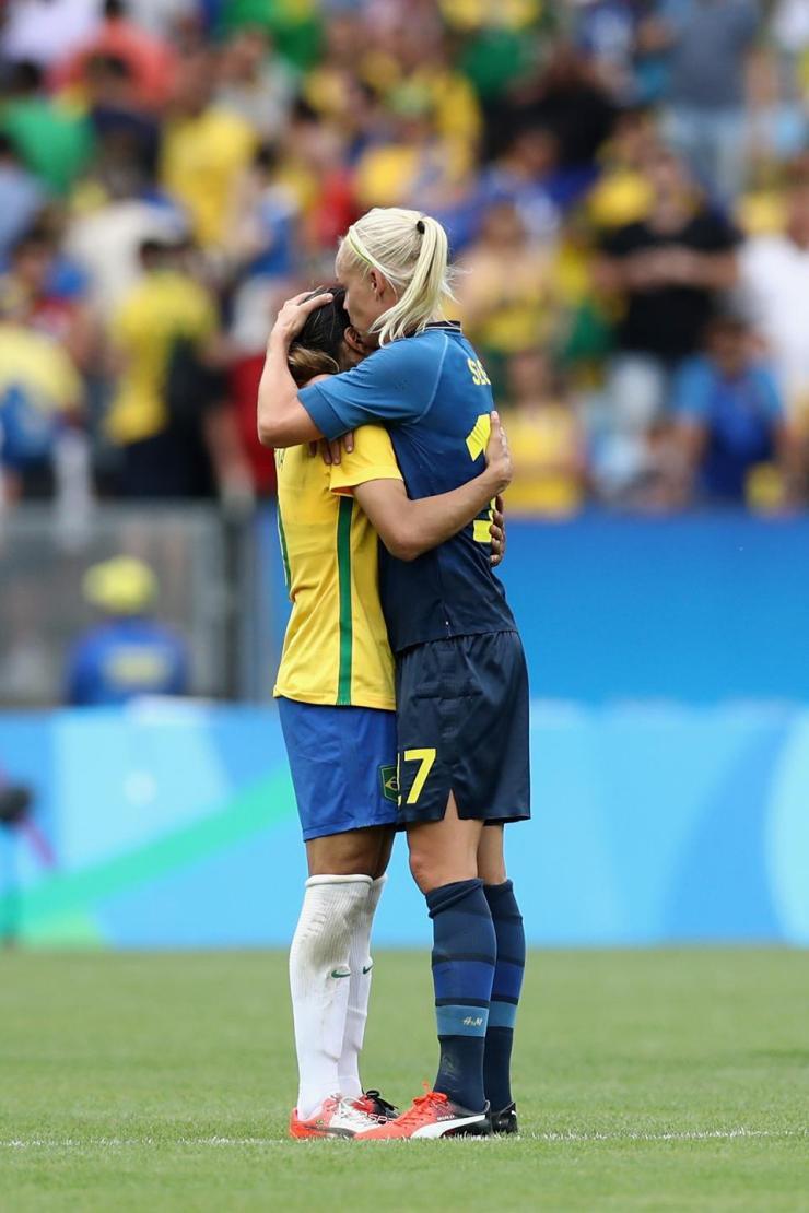 Brazil vs Sweden -  Semi Final: Women's Football - Olympics: Day 11