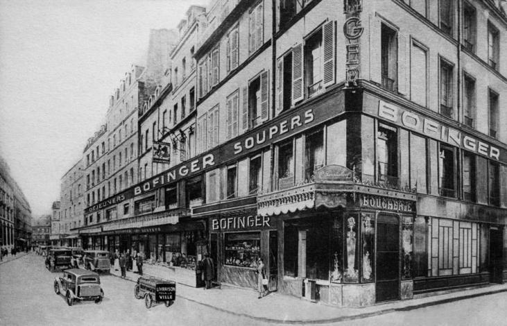Brasserie Bofinger, in rue de La Bastille, Paris is an institution.