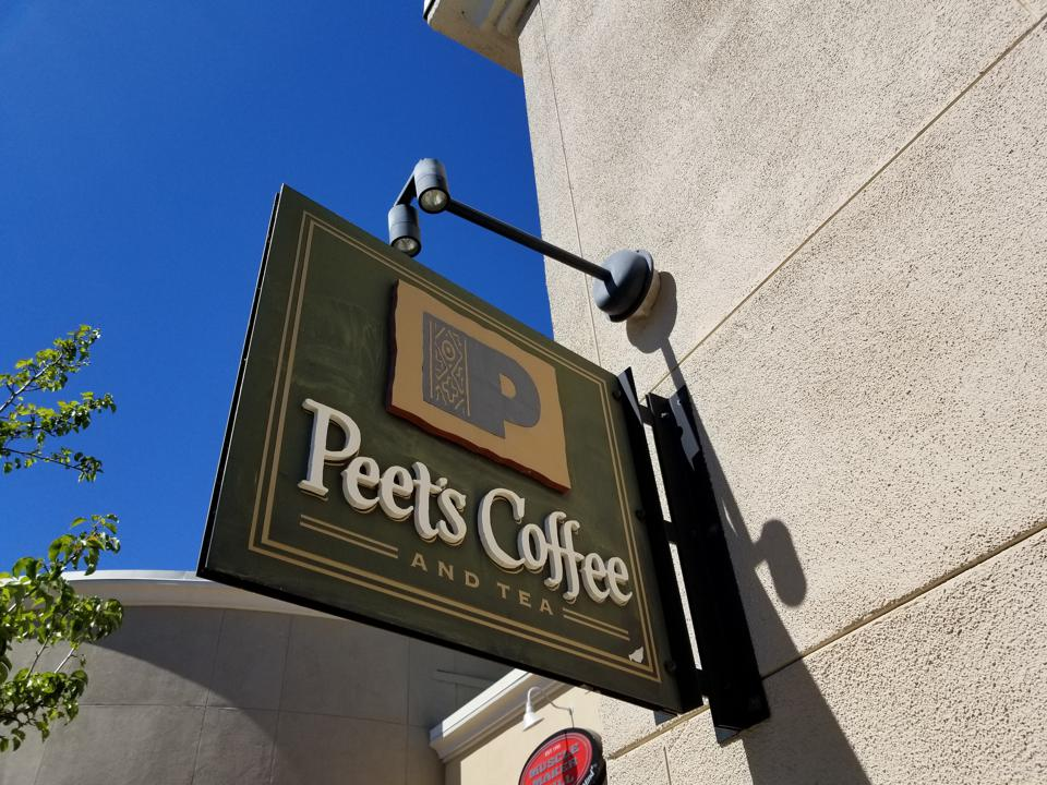Peet's Coffee and Starbucks