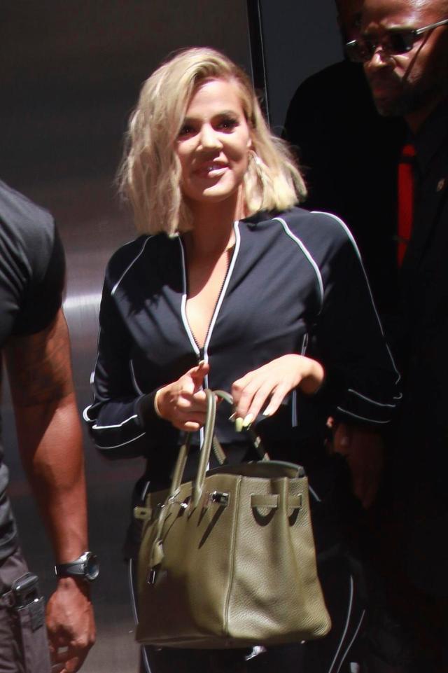 Khloe Kardashian Seen In New York City