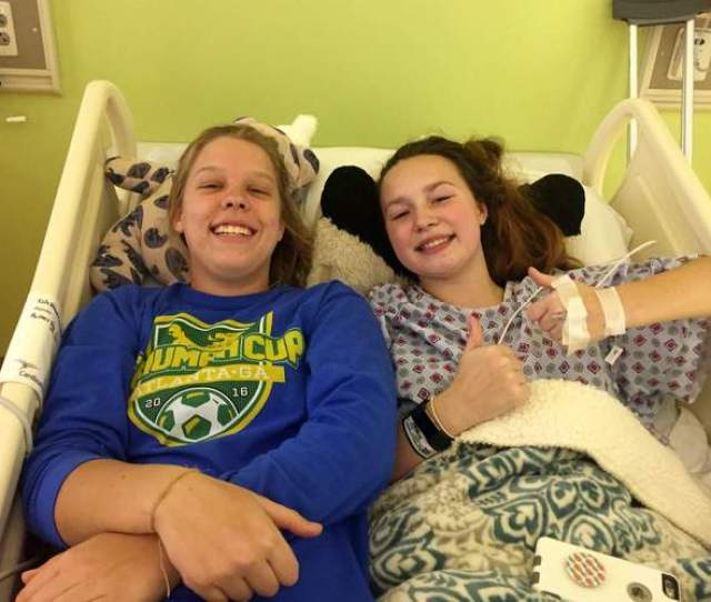 Alex Right And Annie Gets Cozy In Alexs Hospital Bed After Her Surgery For