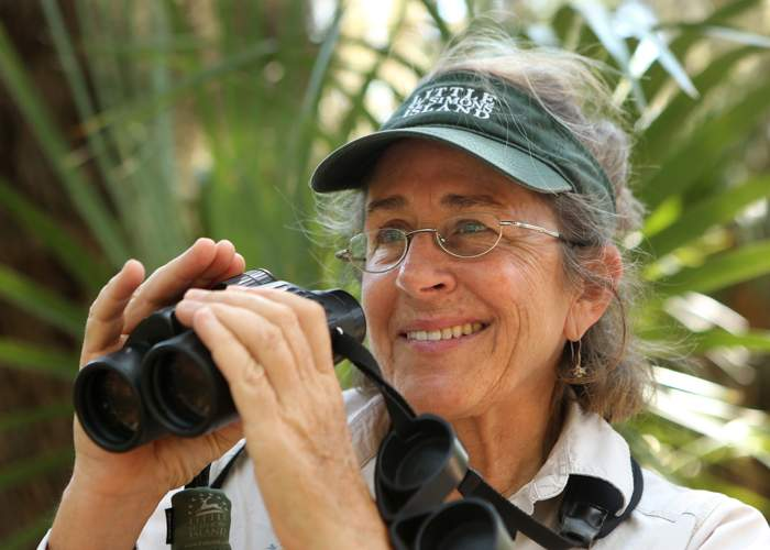 Naturalist manager Stacia Hendricks