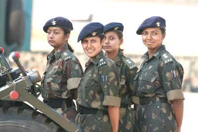 Army women