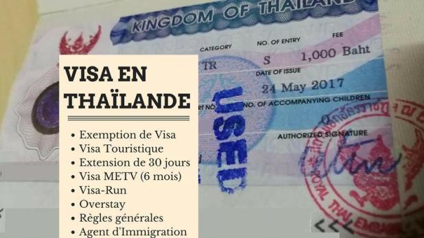Visa en Thaïlande