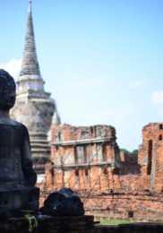 Wat Phra Si Sanphet – Parc Historique – Ayutthaya