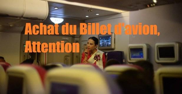 Billet d'avion en Thaïlande