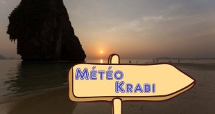 La Météo à Krabi (Prévision et tendance à l'année)