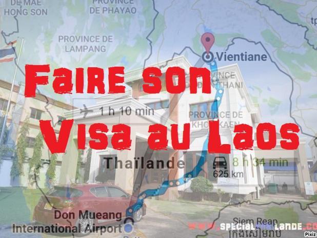 Obtenir Visa touristique thaïlandais à Vientiane - Laos
