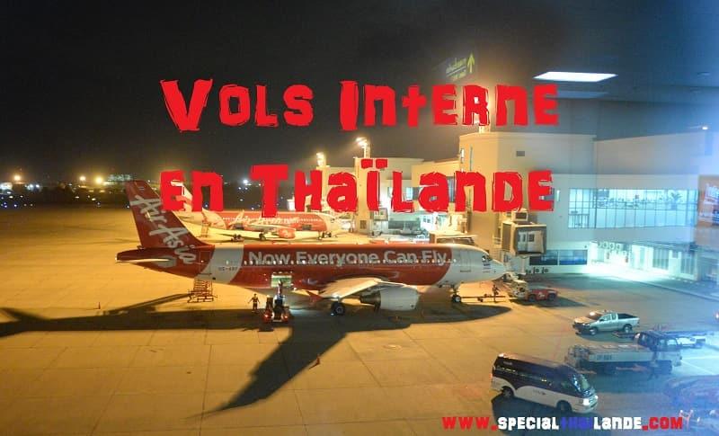 VOLS INTERNES en THAÏLANDE: Liste des compagnies aériennes - Inf