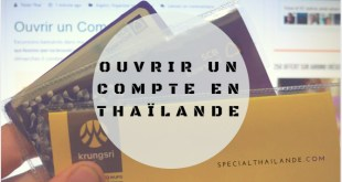 Ouvrir un Compte en Thaïlande