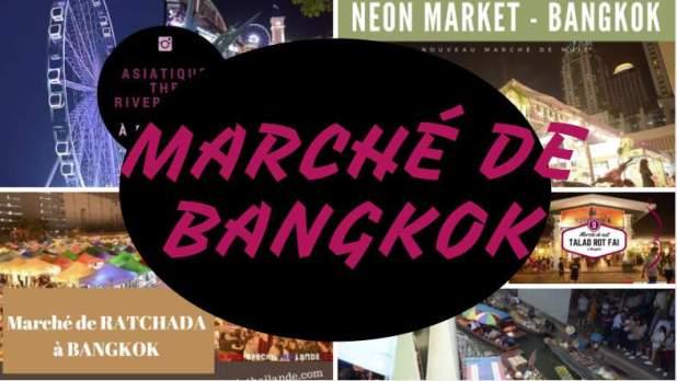 Marché de Bangkok