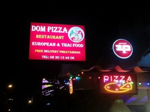 DOM Pizzas Phratamnak - Restaurant & Pizzeria à Pattaya