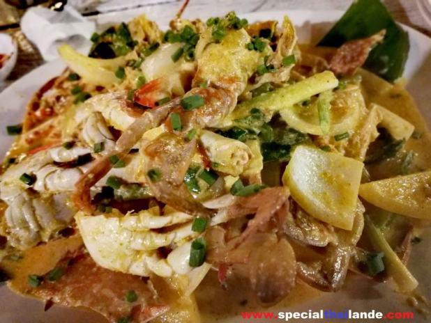 Thai food à Ko Samet