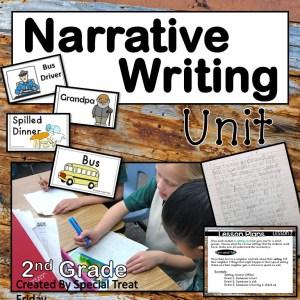 2nd Grade Narrative Writing