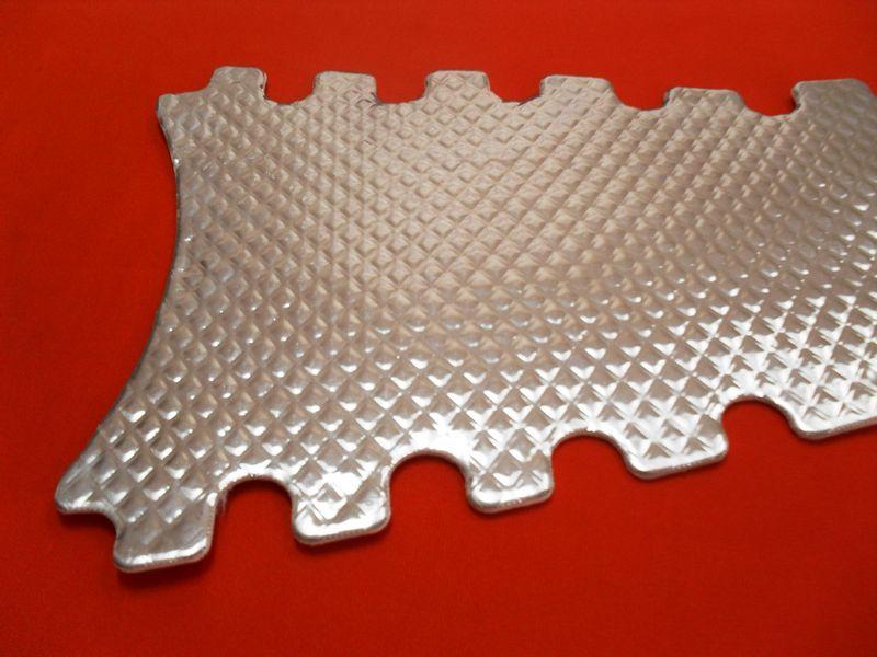 z cool ultra corvette tunnel plate heat shield