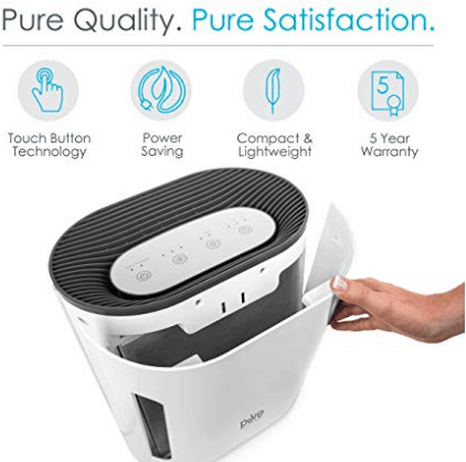 PureZone UV Light Air Purifier