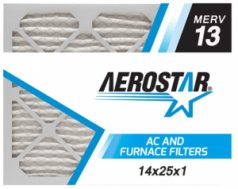 Best HVAC Furnace Filter for Bacteria and Viruses - Aerostar Pleated Air Filter