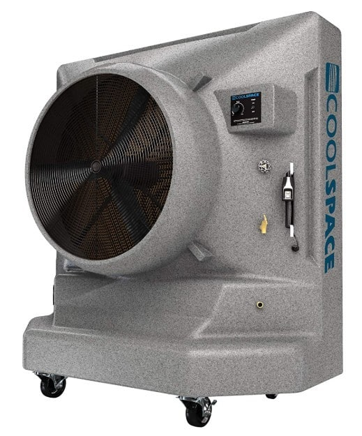 Cool Space Warehouse Evaporative Swamp Cooler Fan