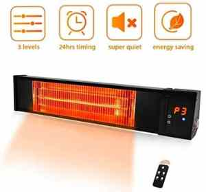 TRUSTECH Electric Infrared Outdoor Patio Heater 1500W
