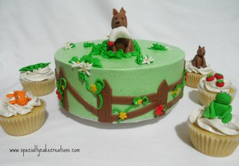 Vegan Fondant Decorations