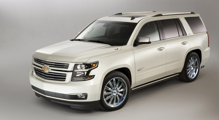 2016 Supercharged Sport Edition Tahoe/Suburban