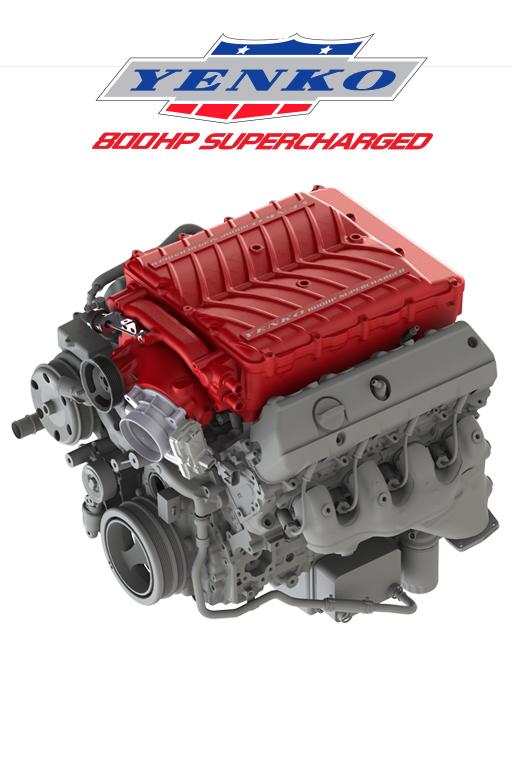 2018 Yenko/SC Corvette Supercharger