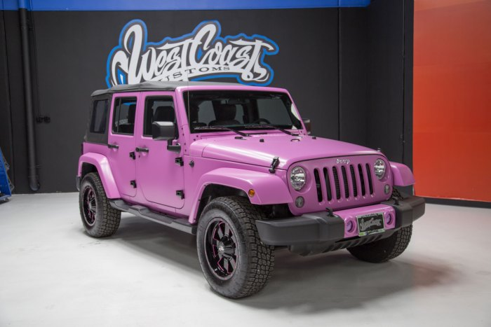 Photo 1 of 2015 HSV Supercharged Wrangler Jeep JK in Frozen Matte Pink