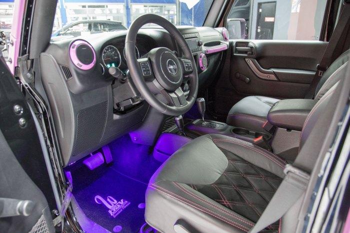 2015 HSV Supercharged Wrangler Jeep JK in Frozen Matte Pink for sale