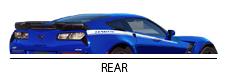 2017 Yenko/SC Corvette Rear View