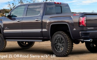 """2018 Supercharged ZL Off-Road Sierra w/6"""" Lift"""