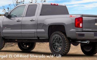 "2018 Supercharged ZL Off-Road Silverado w/6"" Lift"