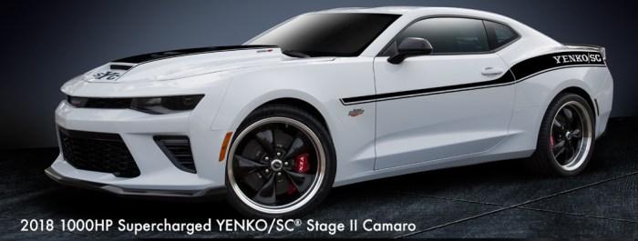 2018 Yenko/SC® Supercharged 1000HP Stage II Camaro
