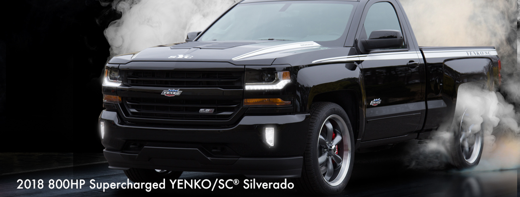 2018 800HP Supercharged Yenko/SC Silverado