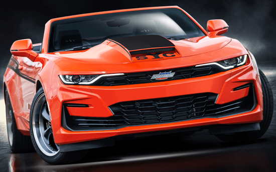 2020 1000HP Stage I Yenko SC Camaro w/ Automatic Transmission Orange