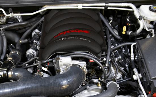2021 750HP V8 AWD Syclone Engine Image